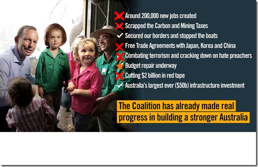 coalition progress