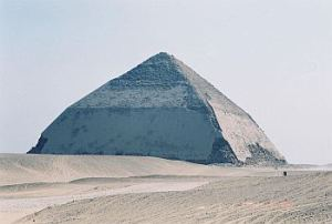 This is part of the Egyptian learning curve - don't make the pyramids too steep, OK?