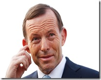 TONY-ABBOTT finger in ear
