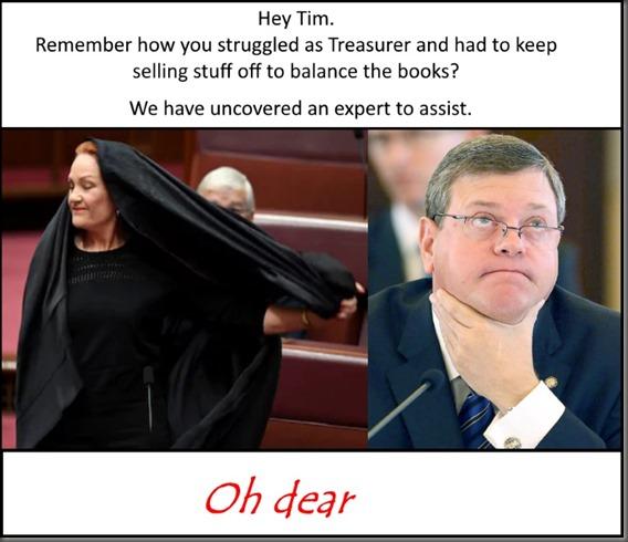 Tim chokes